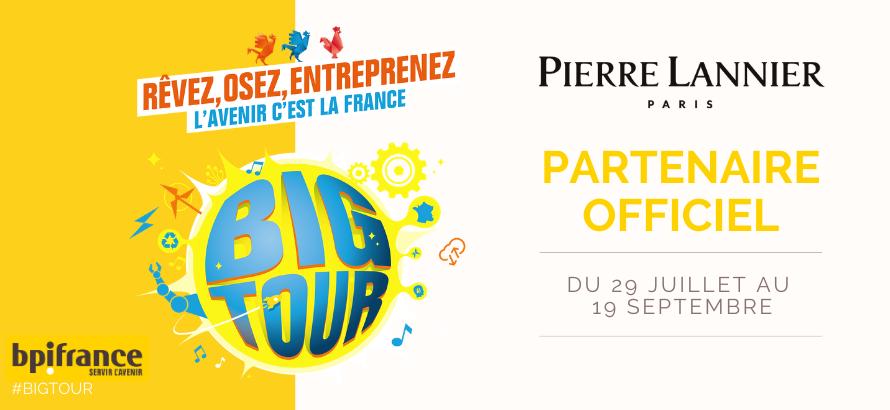 Pierre Lannier - Horloger officiel du Big Tour BPI