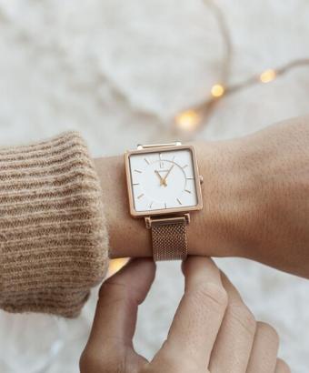 regeler l'heure de votre montre